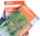 ordnance survey explorer series maps