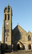 peebles - Peebles Old Parish Church (1885)