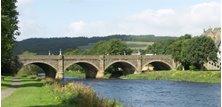 peebles - Tweed Bridge