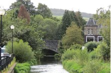 peebles - The Cuddy ( the Eddleston Water )