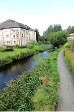 peebles - Riverside walk - The Cuddy