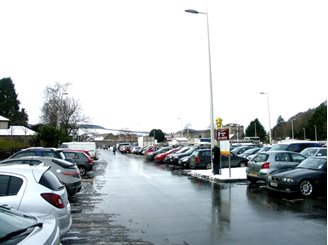 Picture of Car Parking in Peebles