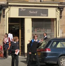 peebles - The Sweet Shop
