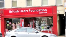 peebles - Charity shop - British Heart  Foundation Scotland