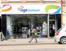 peebles - Charity shop - Age Scotland