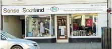 peebles - Charity shop - Sense Scotland