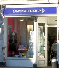 peebles - Charity shop - Cancer Research UK