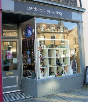 Peebles Crystal ShopPeebles - The Royal Burgh : Visit and