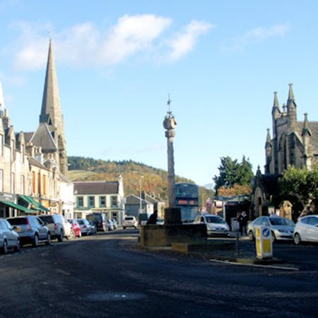 View Eastgate Shopping in Peebles