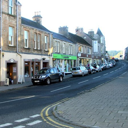 View Old Town Shopping in Peebles