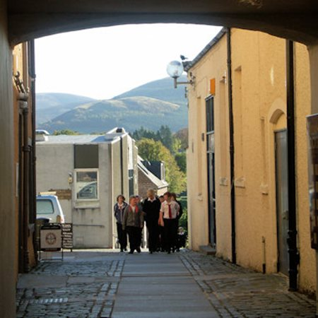 View School Brae in Peebles